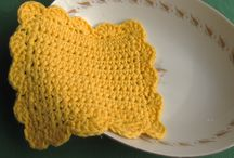 Crochet Coasters, Placemats and Tablerunners