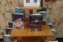 Library Displays / Book displays from work at the Hariotte B Smith Library and ones we would like to do.