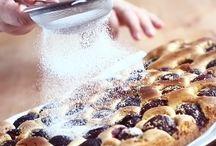 prăjitură din pandispan cu prune