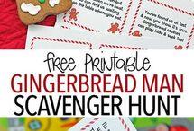 Christmas-Gingerbread man