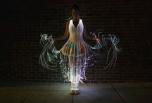 Fashion of the Future: Fiber Optic Dresses / The world's first fiber optic dress has been created by an American designer Natalie Walsh, and it is quite impressive.
