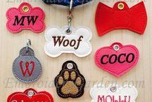 Kutya névtábla-Dog name plate