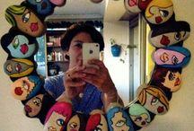 Spejl m.sten