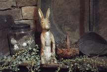 PRIMITIVE SPRING / DECORATING AND COOKING FOR SPRING