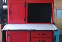 Hoosier cabinets / by Lisa Orth