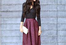 Ladylike and stylish
