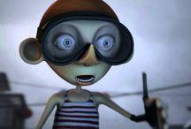 Filmy studentów Drimagine / Filmy dyplomowe słuchaczy Akademii Animacji 3D Drimagine.