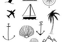 Travel tattoos / Najlepsze Tatuaże na wakacje