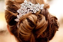 wedding/ red carpet hair / by Victoria de Ranitz