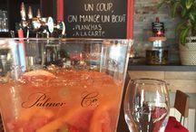 Notre bar... / Un bar complet pour accompagner votre repas ou boire l apéro en grignotant un bout!