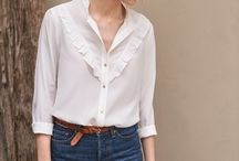 Look 01 : Jean + chemise