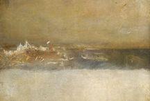 Seascape, landscape et chiaroscuro