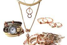 DIY | Smykker i rose-gold og kobberfarver.