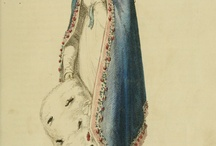 Regency Gowns / The heroine of my current work in progress, Lady Katherine Adamson is tired of wearing white and lace ruffles. She dreams of wearing more sophisticated gowns...on the hunt for her!