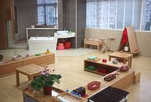 Montessori Classrooms / Montessori classrooms. Get ideas for setting up your home Montessori-style.