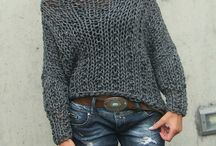Knitted styles / Hand knit