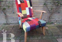 Eigen werk / Werk wat ik heb gedaan als meubelstoffeerder