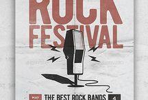 Rock Radio Flyer