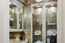 Pantries….Kitchen and Butler's / by Linda L. Floyd Interior Design