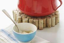 Korkové špunty od vína / Co všechno se dá vyrobit z korkových špuntů.