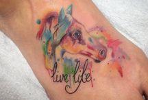 Pferde Tattoos