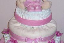 Plenkové dorty / dárky pro děti, nápady