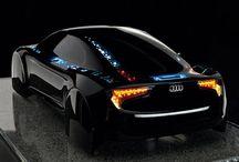 Audi's Vision / Racing Car