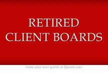 RETIRED CLIENT BOARDS