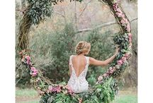 Our Favourite Woodland Wedding Inspiration / We're sharing some of our favourite inspiration from woodland and whimsical themed weddings across Pinterest.