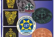 Velcro patches and Military badges / Most velcro patches are made in China, not ours.  We have been making our velcro patches and military badges in San Diego since 1994.