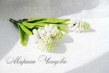 Керамические цветы / Лепка