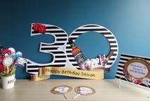 30 yaş parti fikirleri / 30 yaş parti süsleri