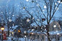 Winterzeit / Winter ist eine von meinen Lieblingsjahreszeiten.