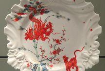Porcelain - Plates