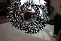 Silver hangings