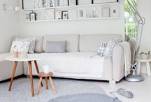 Scandinavian brightness / Scandinavian style decorating design ideas.