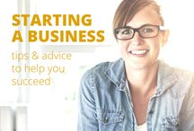 Starting a Business / Starting a business is a multi-step process that can feel overwhelming when you're on your own, but we'll make it easy to stay organized and on track while you start your business and achieve success. Whether you're refining your business idea, filing for permits and licenses, drafting your business plan, or looking for funding, we have the tools you need to do it right and get it done.