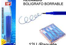 Bolígrafos borrables MP / Nuestra gama de bolígrafos borrables MP demuestra que es posible adquirir un buen producto a un precio al alcance de todos.
