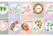 FREE Printable 2015 Blooming Calendar / Here's a free printable 2015 calendar for all of you who loves flowers and nature. You can download it from: http://www.kaja.lebork.pl/KAJA-Kalendarz-2015.html and print it for you or your friends!