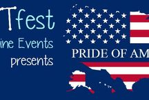 #CRAFTfest Pride of America April 2016 / Here are a selection of gorgeous creations from our CRAFTfesters taking part in this event. www.craftfest-events.com