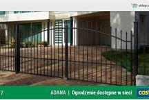 Ogrodzenie klasyczne ADANA