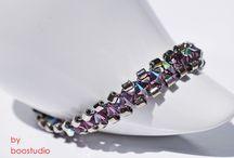 Miyuki & Swarovski bracelets