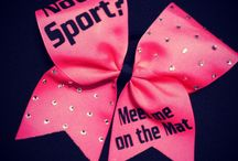 Cheer Bows and Nike Pros