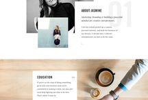 DESIGN Websites / Voor design en fotografie
