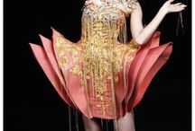 Asian haute couture
