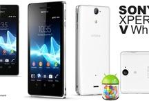 Sony Xperia V White