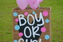 Gender Reveal Party Ideas / by Courtney Isbell
