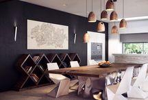 Dining Room / Ideas / by Adrienne Bonaguidi