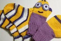 Варежки, носки