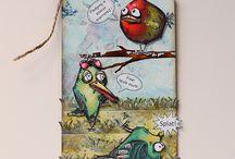 Tim Holtz Bird Crazy